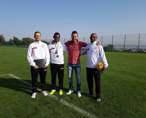 Qatari team in Bulgaria