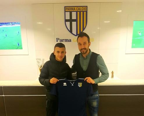 Bojidar Kostadinov signs with Parma
