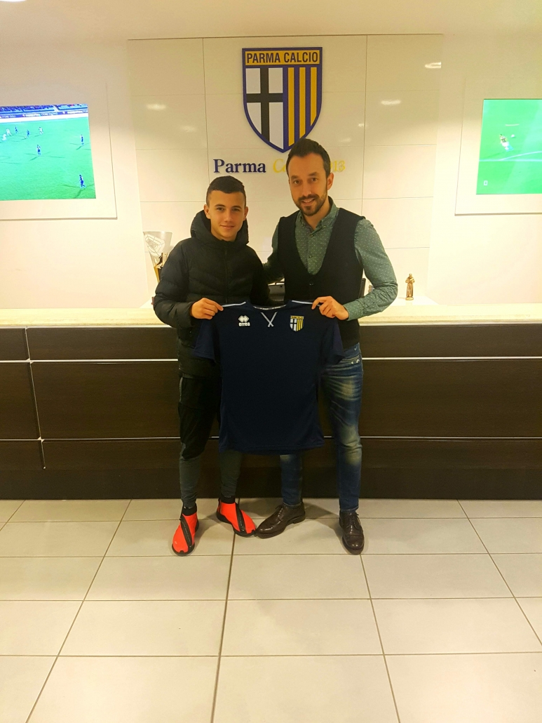 Bojidar Kostadinov signs with Parma