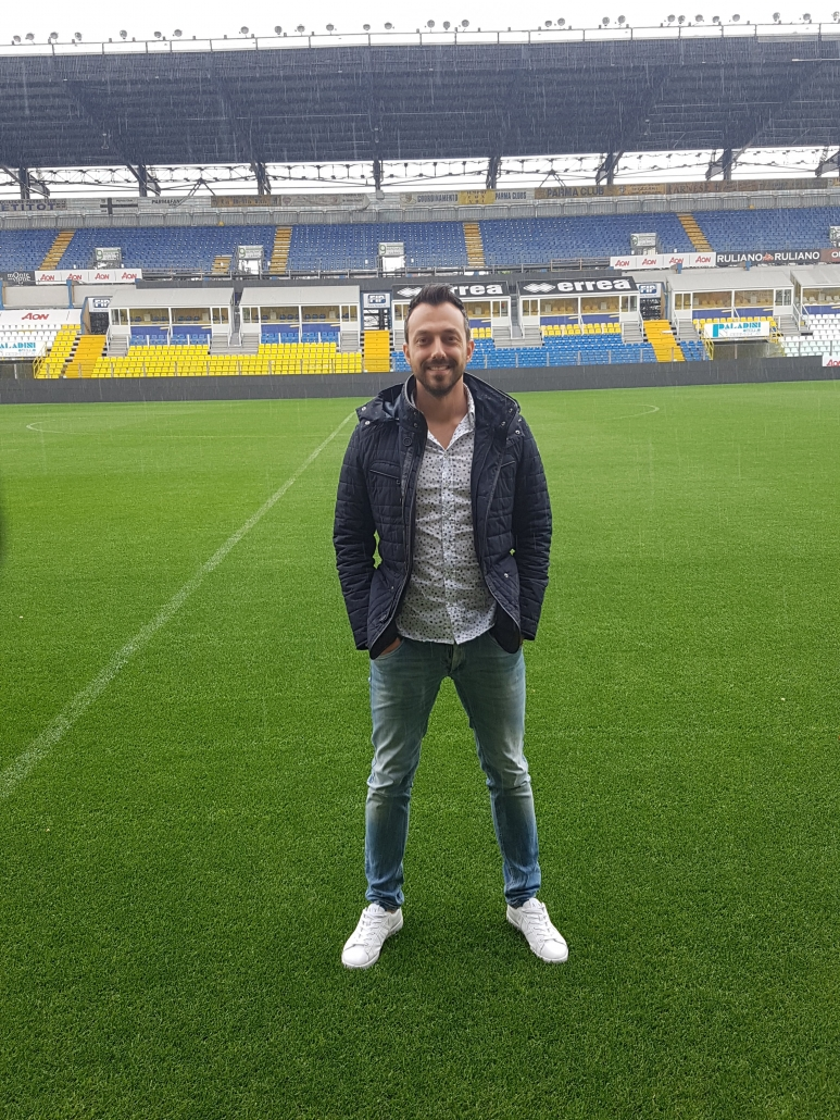 Georgi Zahariev in Parma