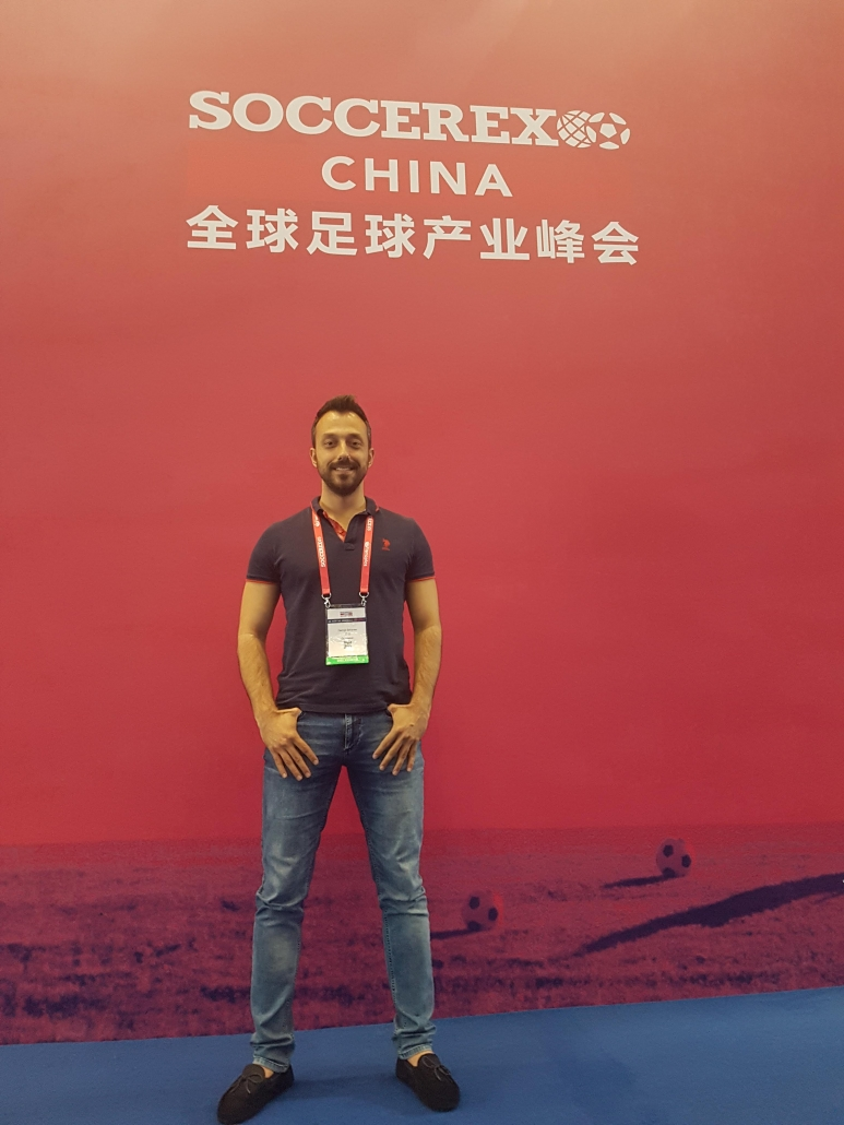 Georgi Zahariev during SoccerEx China