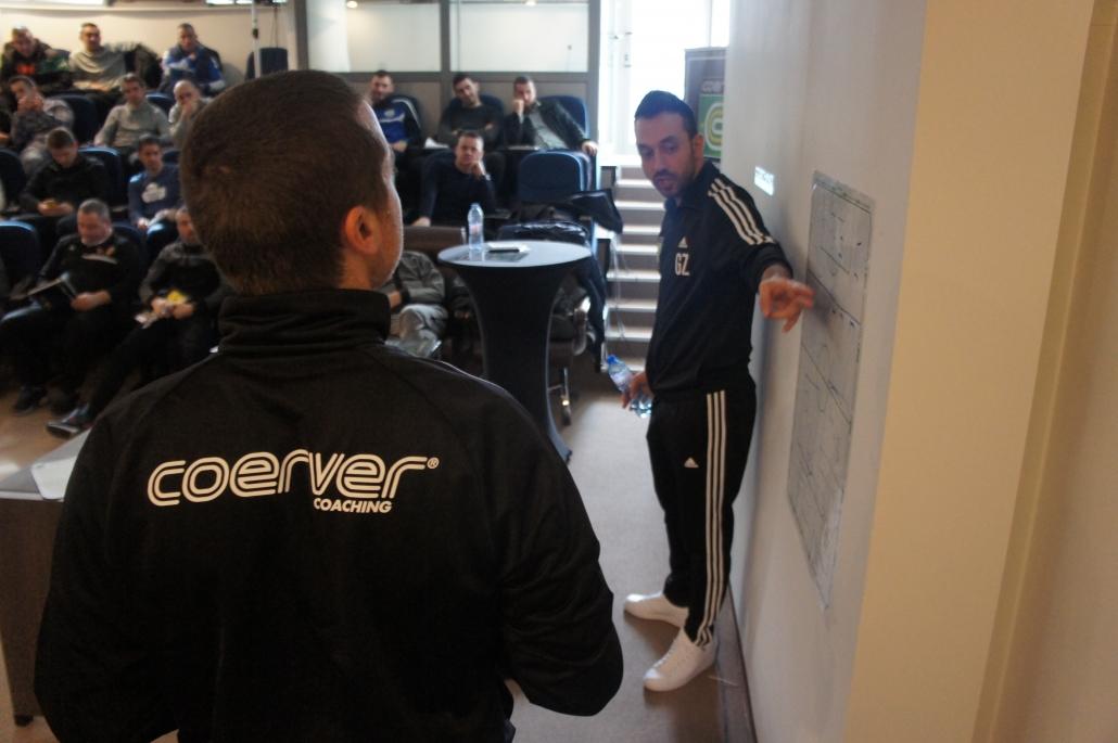 During a Coerver seminar