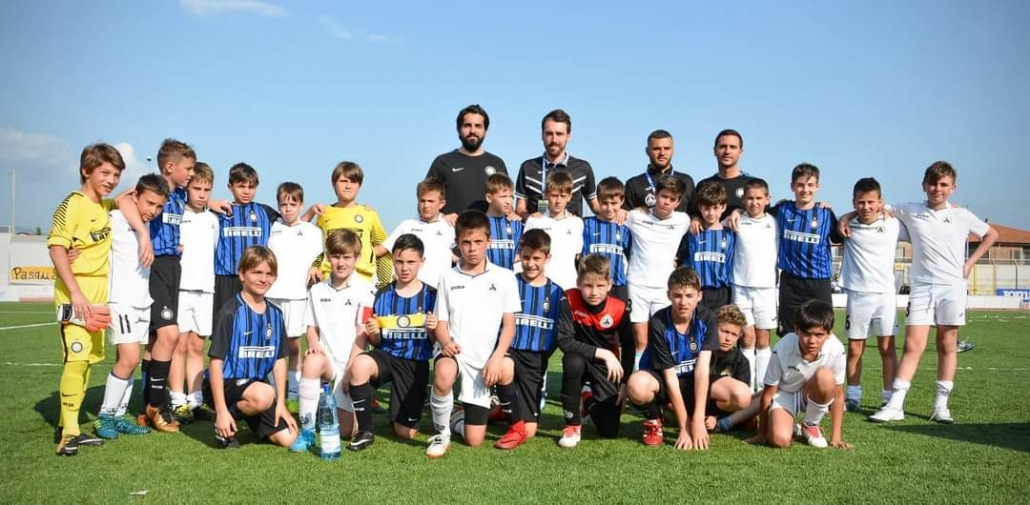Alexander Zahariev after a game with Inter Milano played in Italy