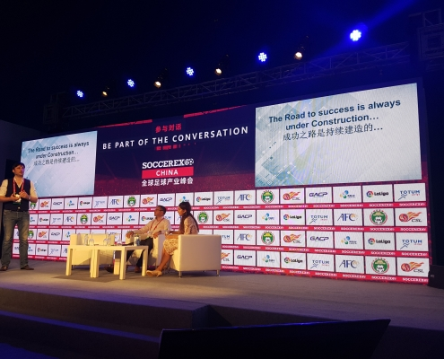 Presentation during SoccerEx